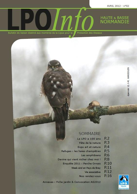 couverture du LPO Infos numéro 02