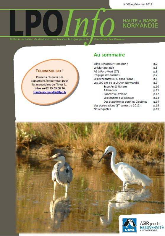 couverture du LPO Infos numéro 03-04