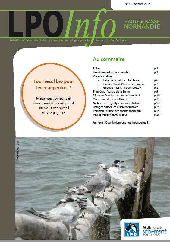 couverture du LPO Infos numéro 07