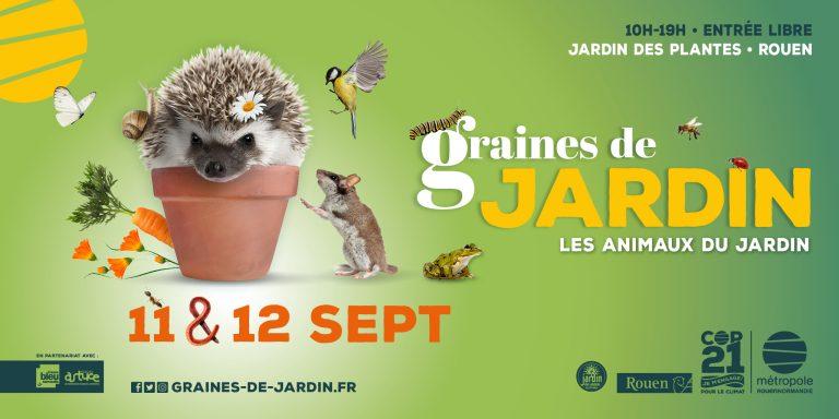 Illustration du festival Graines de jardin à Rouen